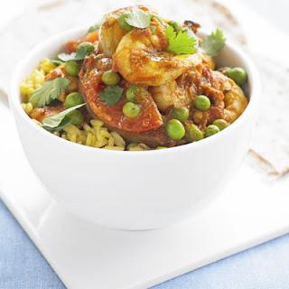Prawn, Pea & Tomato Curry Recipe