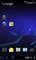 Screenshot of Honeycomb Launcher +