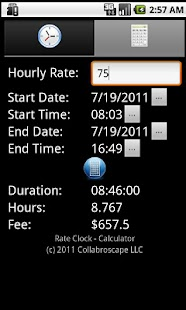 Rate Clock- screenshot thumbnail