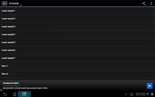 Screenshot of Dancehall Sound Effects