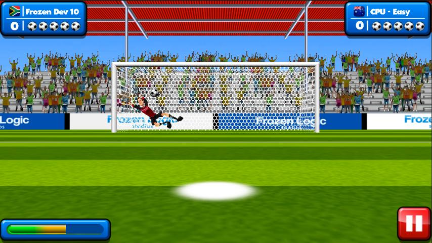 Soccer Penalty Kicks- screenshot