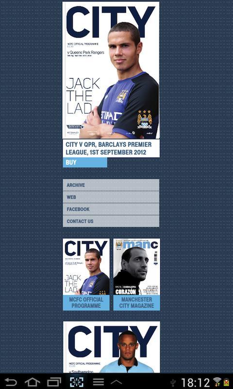 MCFC Editions - screenshot