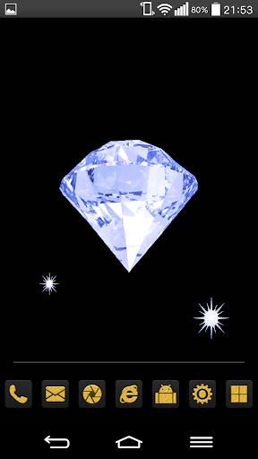 Blue Diamond Live Wallpaper