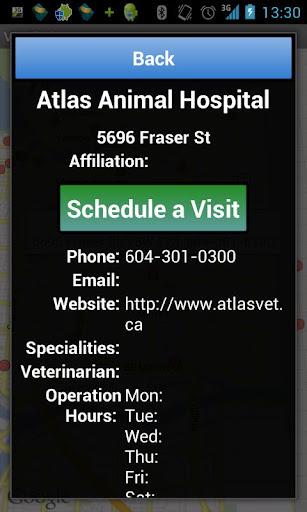 【免費健康App】Vet Finder-APP點子