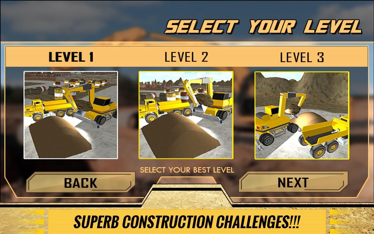 Sand-Excavator-Dump-Truck-Sim 24