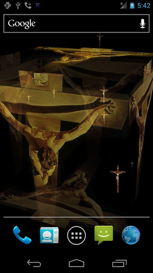 Jesus & Cross Live Wallpaper + - screenshot