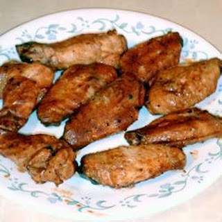 Braised Chicken Wings with a Secret