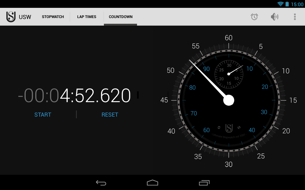 Ultimate Stopwatch & Timer- screenshot