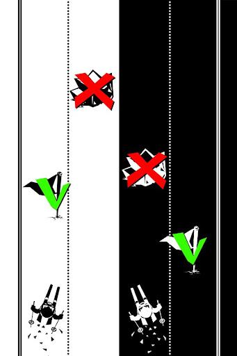 Black White Ski Challenge