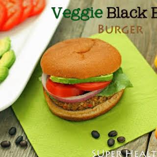 Veggie Black Bean Burger.