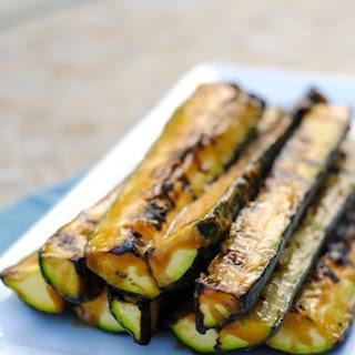 Miso-Glazed Grilled Zucchini