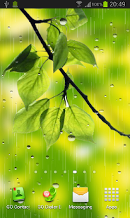 Rain live wallpaper screenshot