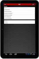 Screenshot of PRV ERP