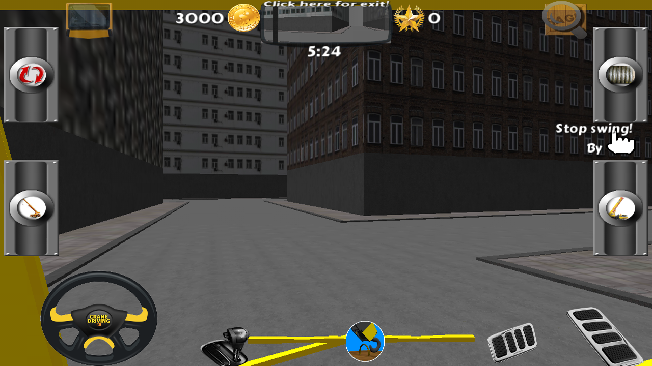 Crane Driving 3D Free - screenshot