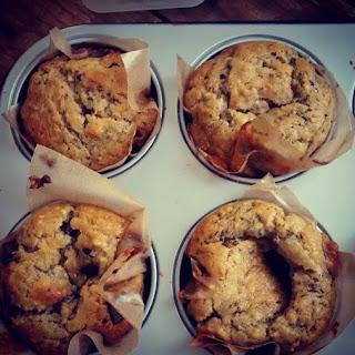 Vegan Banana & Chocolats chips Muffin.