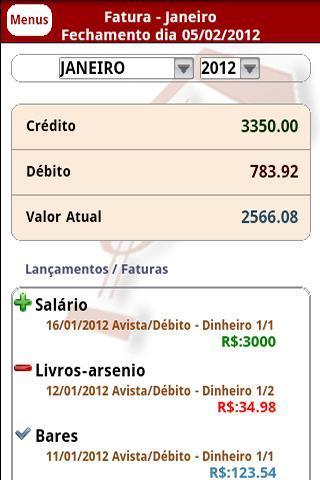 Orçamento Doméstico ou Ordom- screenshot