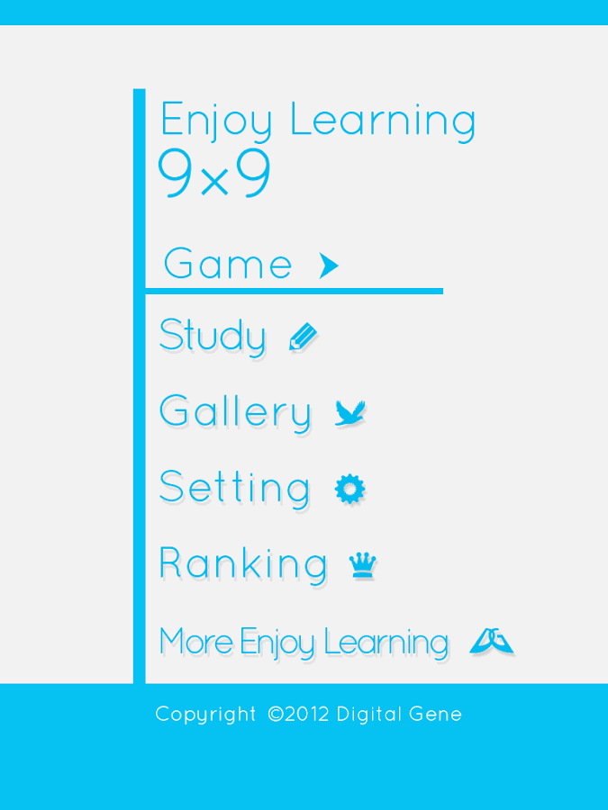 Enjoy Learning 9x9- screenshot