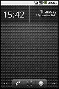 Simple Clock Widget- screenshot thumbnail