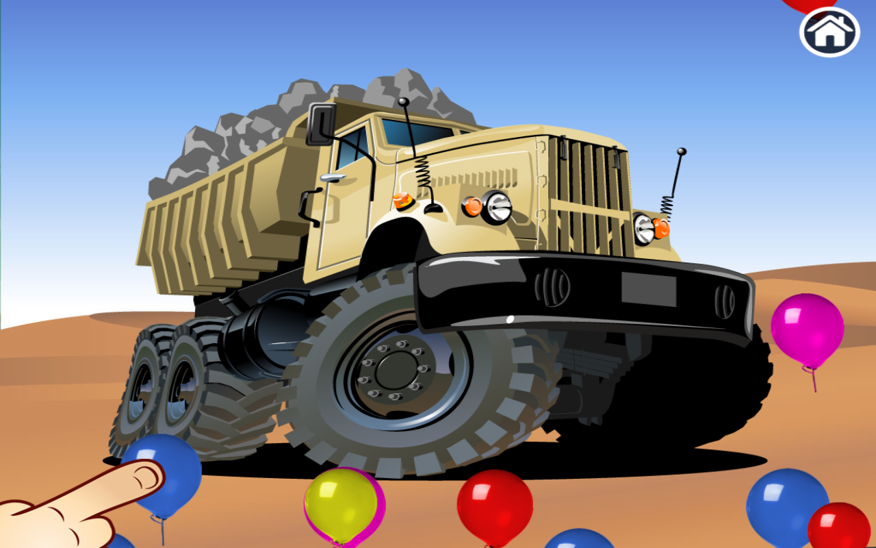 Connect Dots Truck Edition- screenshot
