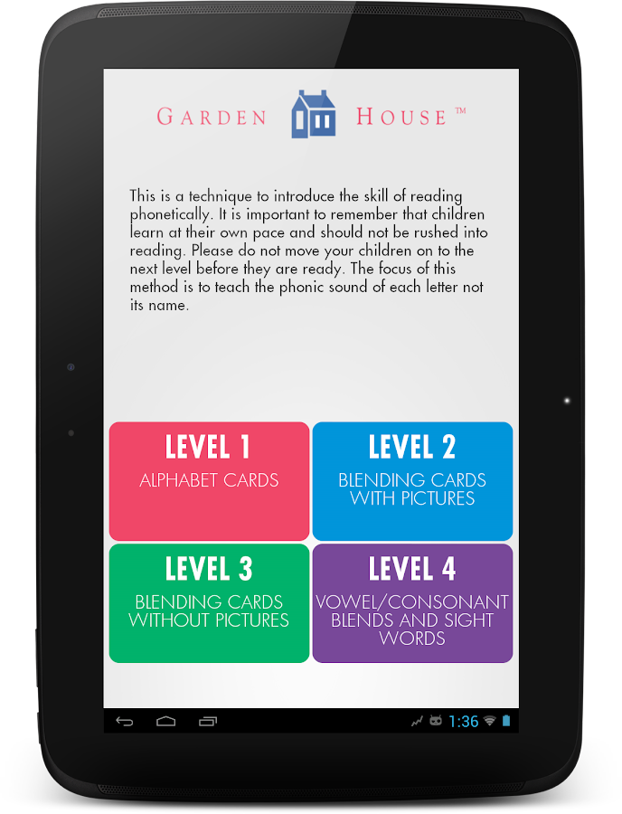 Garden House Little Readers- screenshot