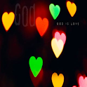God is Love Live Wallpaper logo