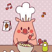 Cooking pig