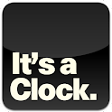It's a Clock. logo