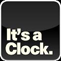 It's a Clock. logo