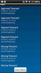 IQNavigator Timecards- screenshot thumbnail