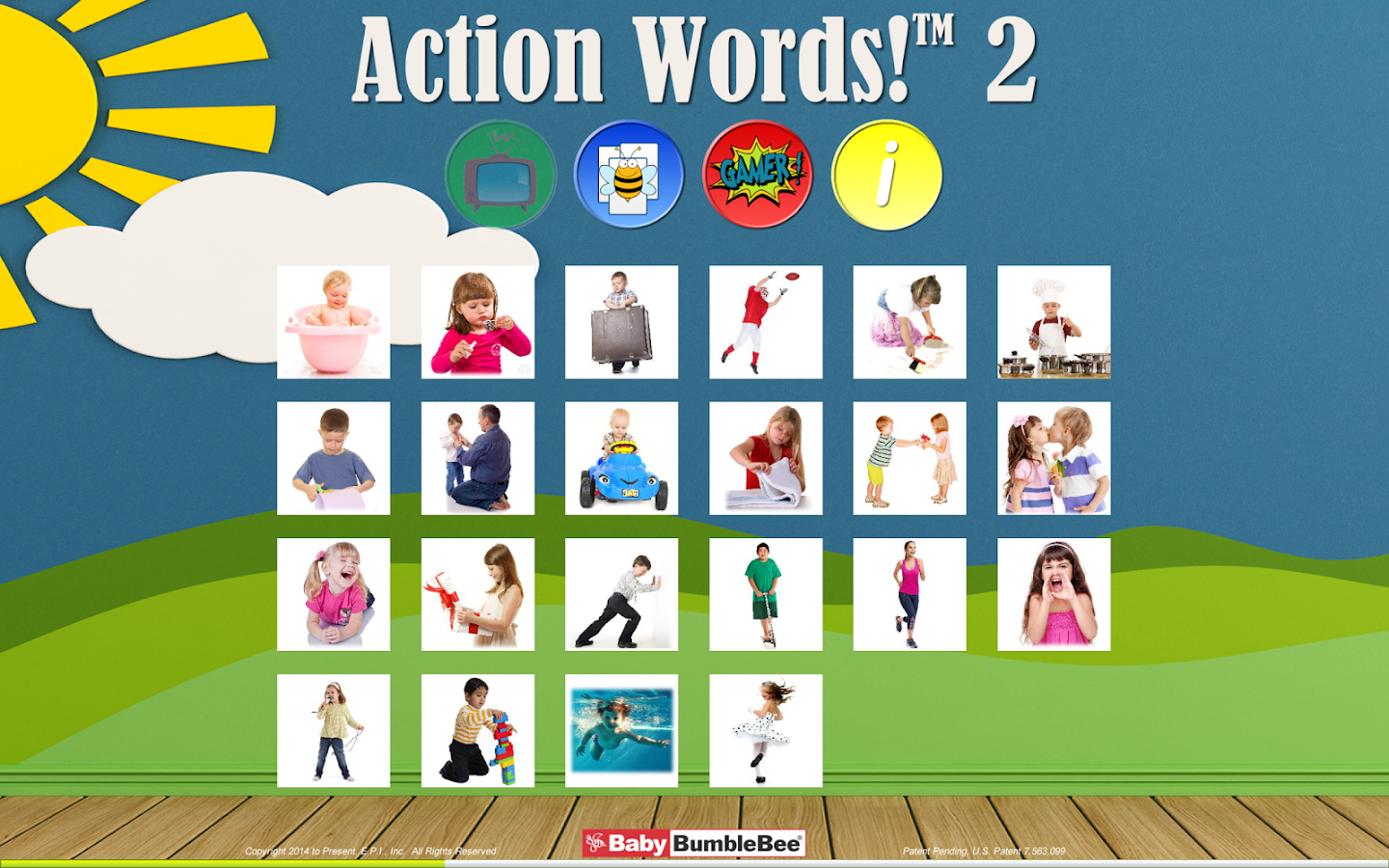 action words 2 flashcards android apps on google play action words 2 flashcards screenshot