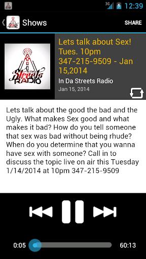 In Da Streets Radio