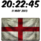 England Digital Clock