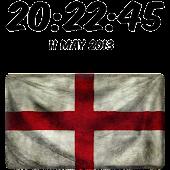 England Digital Clock