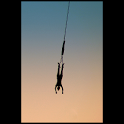 Bungee jump illustrated icon