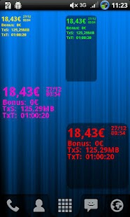 AndroTimWidget Lite via sms - screenshot thumbnail