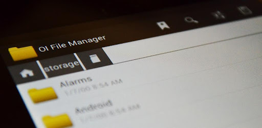 how to use oi file manager