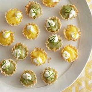 Itty-Bitty Lemon or Lime Pies.