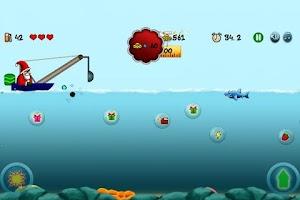 Screenshot of Speedboat Santa