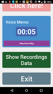 Simple voice memo screenshot 3