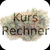 Weed Kurs-Rechner