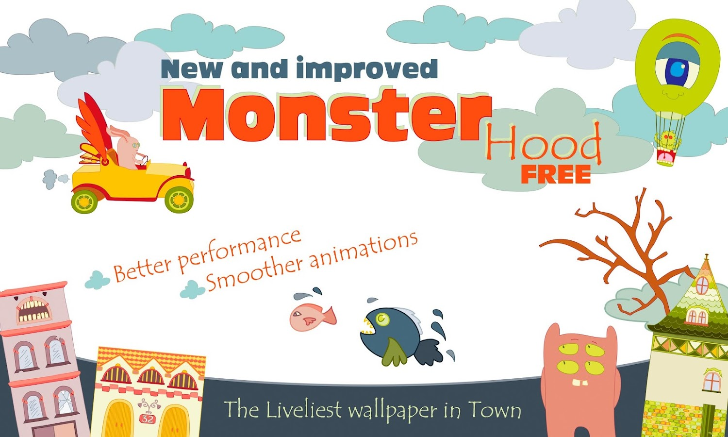 MonsterHood Live Wallpaper - screenshot