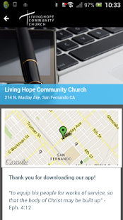 Living Hope Community Church- screenshot thumbnail