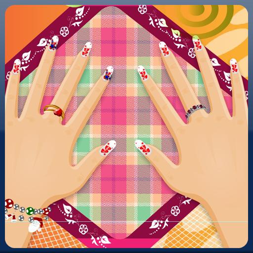 聖誕女孩美甲 解謎 App LOGO-APP開箱王