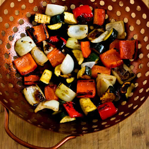 World'S Easiest Grilled Vegetables Recipe