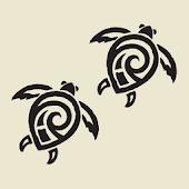 Tribal Turtle Tracks LW