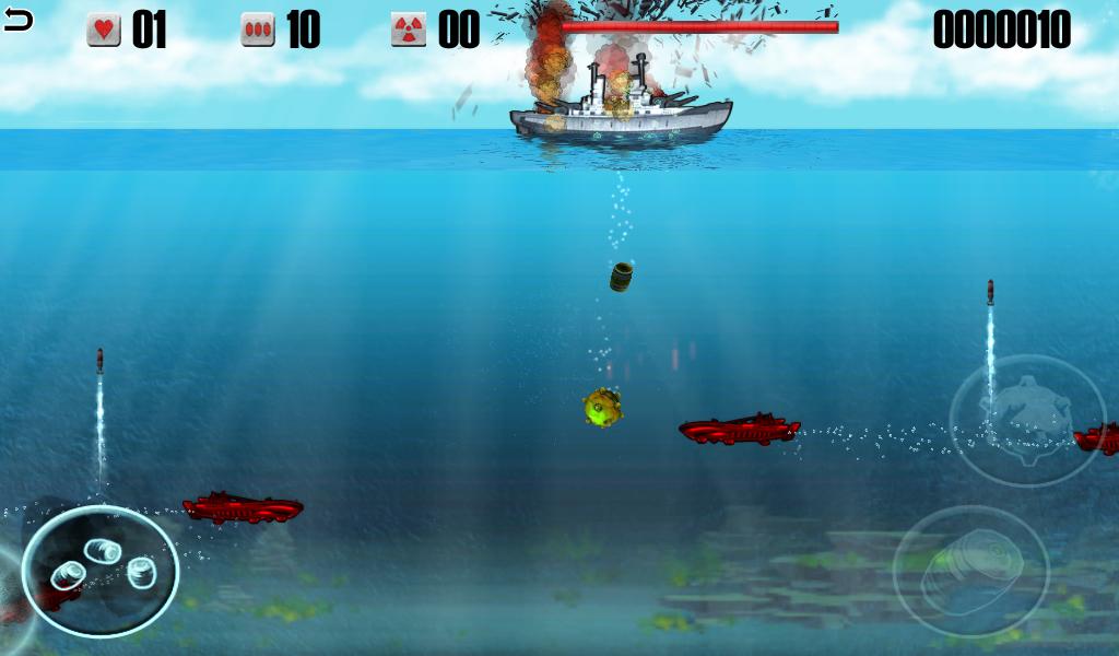 бой подводных лодок играть