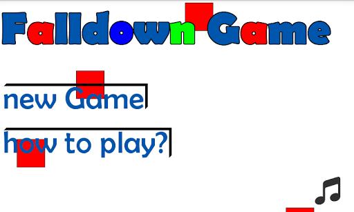 Falldown Game