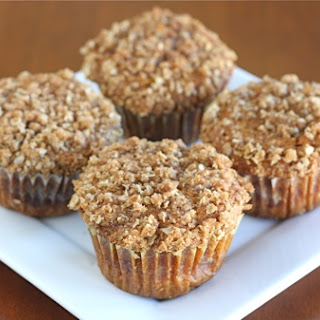 Pumpkin Cinnamon Streusel Muffins.