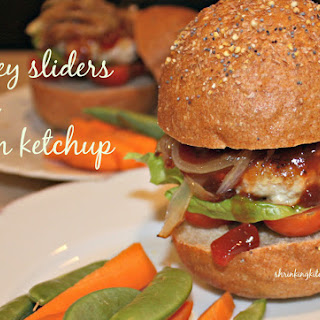 Turkey Sliders with Plum Ketchup