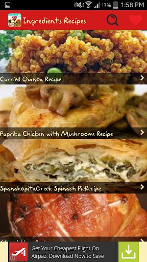 Ingredients Recipes